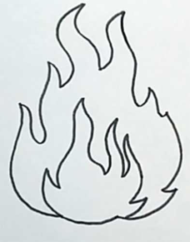 How to draw fire