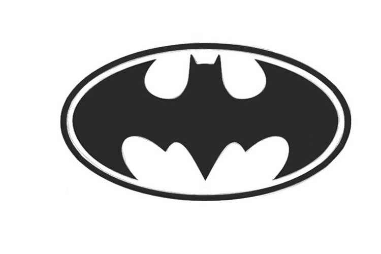 How to draw a Batman