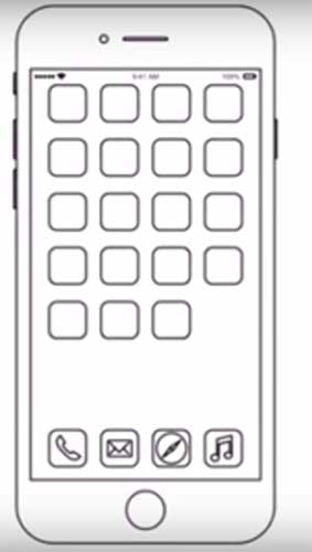 How to draw iPhone