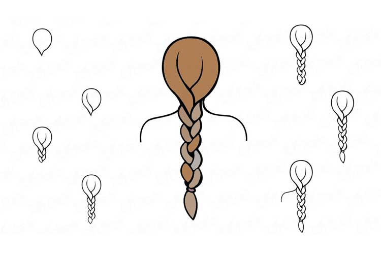 Braid drawing tutorial