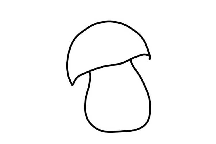 Mushroom drawing