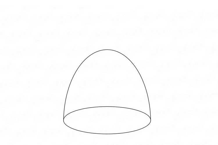 Drawing a beanie simple