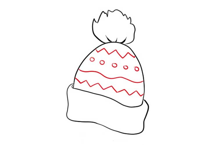 How to draw a Beanie