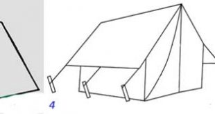 Tent Drawing