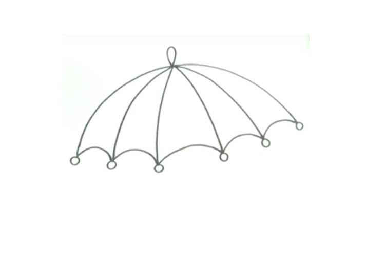 Beach Umbrella Drawing