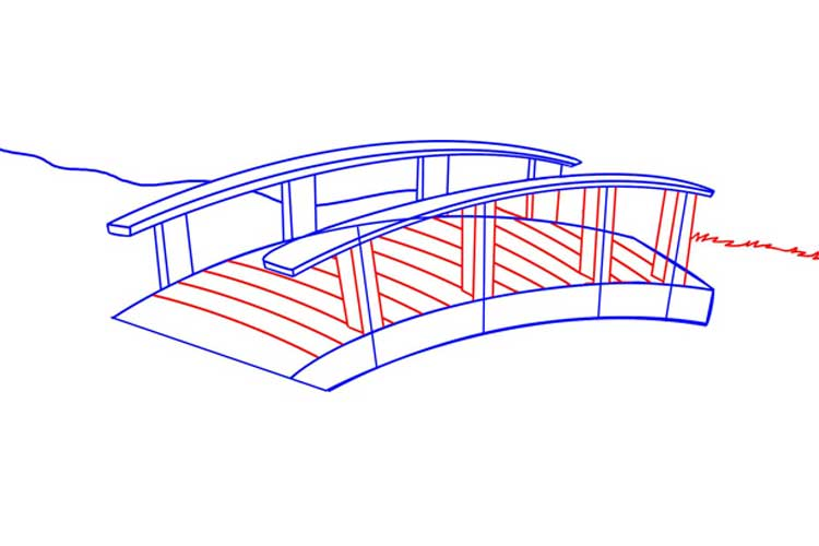 Bridge drawing Easy