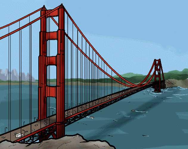 bridge drawing
