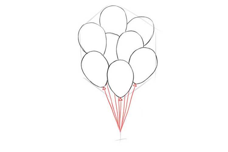 balloon drawing
