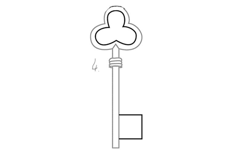 Key Drawing Simple