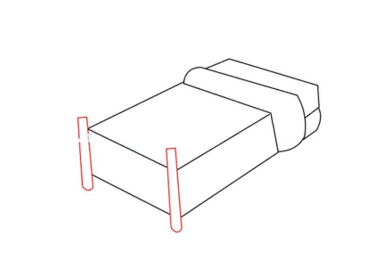 Bed Drawing