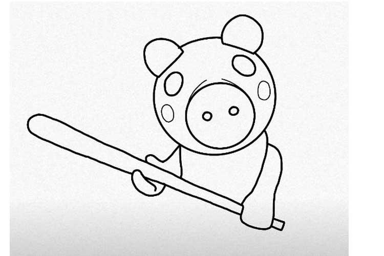 draw roblox piggy